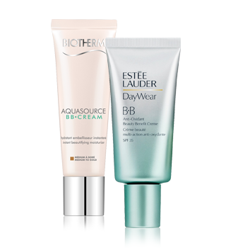 Tinted skin creams
