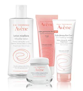 Fundamental care for sensitive skin Avène