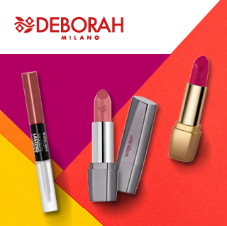 Deborah Milano lipstick and gloss